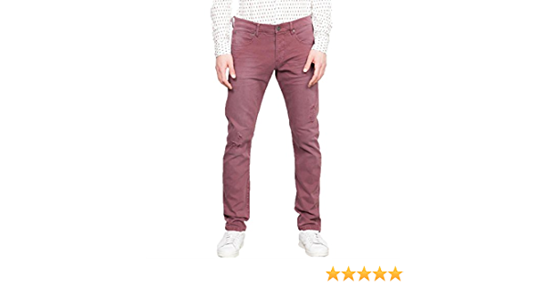 Pantalon cargo treillis large blanc FREEMAN T PORTER VENTURE homme taille  W 32