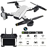 M3M Folding Drone 2.4Ghz WIFI FPV Quadcopter Wide Angle Camera Hold Wifi Gesture