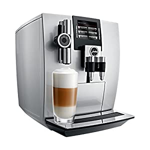 JURA 15038 J90 Bean-to-Cup Coffee Machine, Silver
