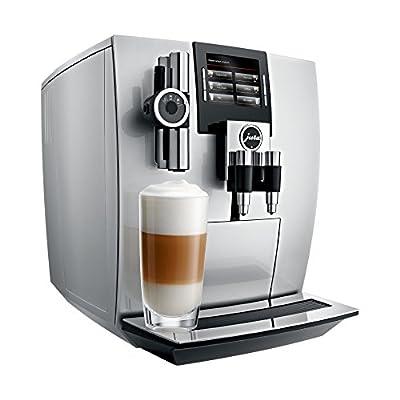 JURA 15038 J90 Bean-to-Cup Coffee Machine, Silver