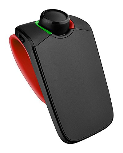 Parrot Minikit Neo HD Bluetooth Visor Hands-Free-Kit – Rot