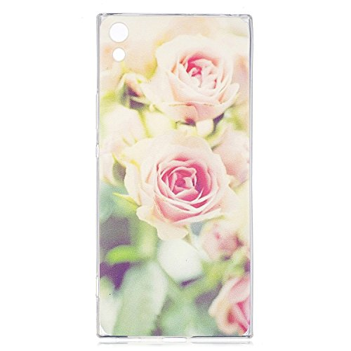 KANTAS 3X Coque Silicone Transparente pour Sony Xperia XA1 Ultra TPU Doux Back Case Caoutchouc Gel Etui Clair Ultra Mince Coquille Slim Fit Flexible Housse Silicone Souple Rubber Soft Clear TPU Bumper 10