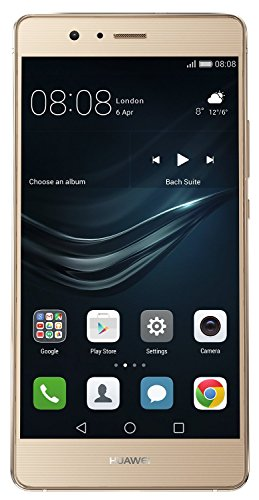 Huawei P9 Lite Smartphone, LTE, Display 5.2'' FHD, Processore Octa-Core Kirin 650, 16 GB Memoria Interna, 3GB RAM, Fotocamera 13 MP, Single-SIM, Android 6.0 Marshmallow, Oro [Italia]