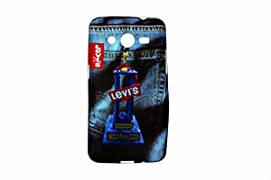 Chiya Multicolor Silicone Back Cover Case for Samsung Galaxy Core II