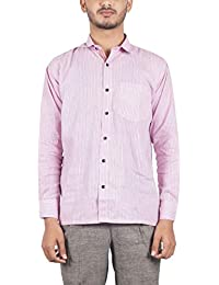Bihar Khadi (A Bihar Govt. Enterprise Men's Shirt (Multi-Colored, 38)