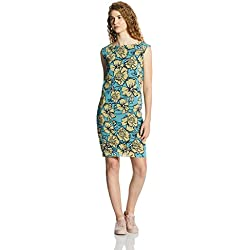 Vero Moda Women's A-Line Dress (10169442_Blue Bell_S)