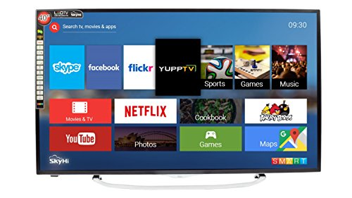 SkyHi SK40K70 102cm (40 inches) Full HD Smart LED TV (Silver)