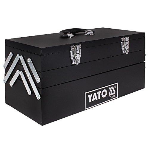 Yato yt-0885-Werkzeugkasten 460x 200x 225mm mit Kragarm
