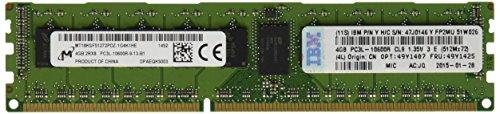 240 Pin Dimm Lp (LENOVO EBG TopSeller Memory 4GB 1x4GB 2Rx8 1.35V P)