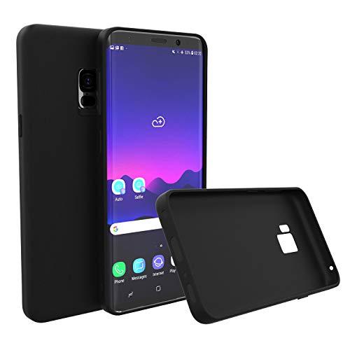 Brand.it Monkey Case passend für Galaxy S7 schlanke Ultra Slim Hülle TPU Silikon schwarz matt -