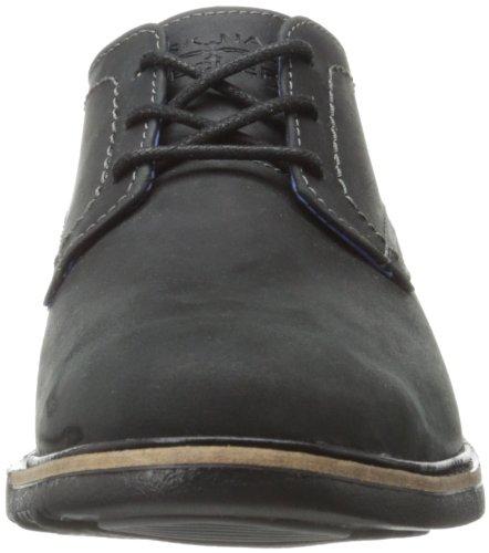 Skechers Malling, Chaussures Lacées Homme Noir