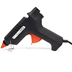 Easy Electronics 40 Watt Hot Melt Glue Gun with 5 Pieces Big Glue Sticks Free