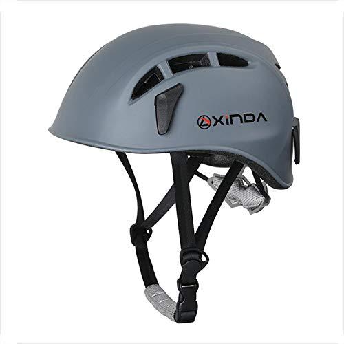 terferein Schutzhelm, Outdoor Downhill Helm, Kletterausrüstung mit Einstellbarer Kopfgröße, Outdoor Outreach Aktivitäten Caving Rescue, Kopfschutz