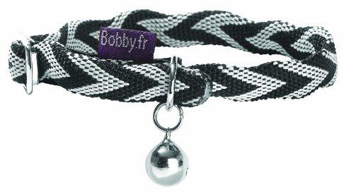 bobby-ckchev-halsband-chevron-schwarz