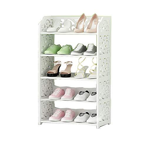 Rack à chaussures simple à poussière rack de chaussures maison économique de stockage de salle de séjour petite armoire à chaussures,A