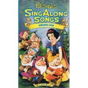 Sing Along Songs Heigh Ho Vhs Disney Amazon Co Uk Video
