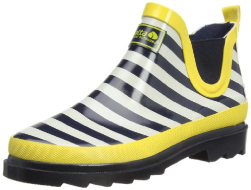 Regatta Lady Juniper, Work Wellingtons femme Bleu - Navy/Lemon Tea