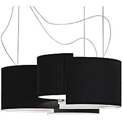 Pallucco Joiin Sospensione G nero, lampada a sospensione L. 77cm