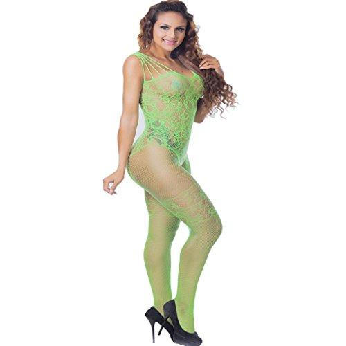 Lingerie Femmes! YaHoo Femmes Dentelle Robe Body Sexy Sous-Vêtements Lingerie Dames Dentelle Robe Babydoll Lingerie Vêtements De Nuit Sous-Vêtements Babydoll Vêtements De Nuit Vert