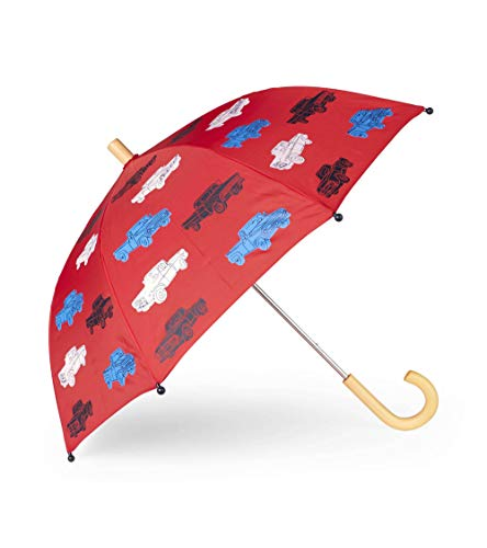 Hatley Printed Umbrellas Ombrello Rosso Unica Bambino