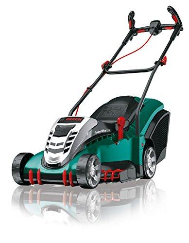 Preisvergleich Produktbild Bosch Akku Rasenmäher Rotak 430 LI mit 2x Akku, Grasfangkorb: 50 l, Ladegerät, Karton, 36 Volt, 2,0 Ah, Schnittbreite: 43 cm, Schnitthöhe: 20-70 mm