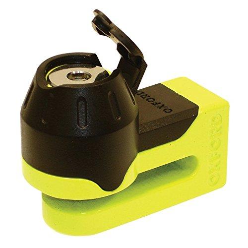 Preisvergleich Produktbild Blockiert Festplatte Oxford Mini T Lock 5,5mm gelb