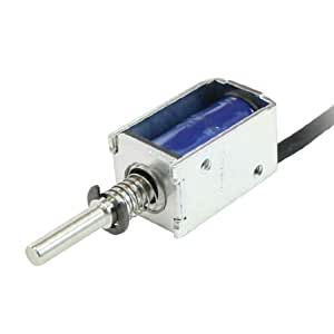 Pull type open frame actuator electric solenoid dc 12v 2mm for 12v door lock actuator