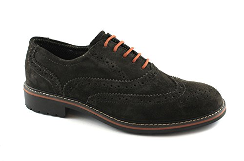 IGI & CO 86812 café Brun Chaussures habillées Hommes Broderie Anglaise de SPACIUM