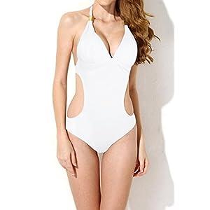 LADY MOON Costume Intero Donna Costumi Donna Mare Costume da Bagno Donna Costumi Interi Swimsuit Women Swimwear… 1 spesavip