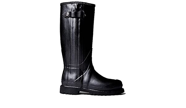 Hunter Wellington Boots Wellies Mens Balmoral II Black Size 11 Eu 45//46 New