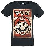 Photo de Bioworld EU T-Shirt Super Mario Men's Propaganda Affiche Coton Noir par Bioworld EU