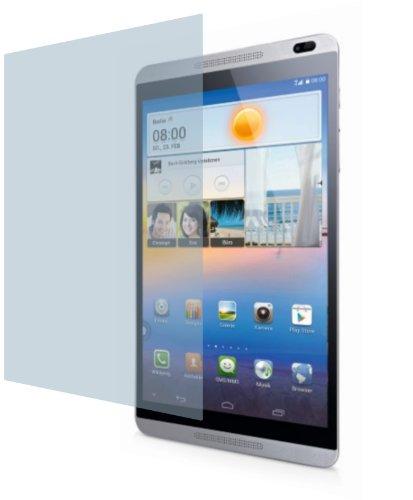 4ProTec Huawei MediaPad M1 8.0 ENTSPIEGELNDE Premium Bildschirmschutzfolie Displayschutzfolie (2 Stück) Schutzhülle Bildschirmschutz Bildschirmfolie Folie