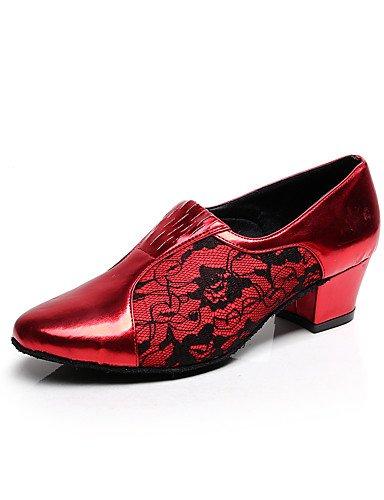 La mode moderne Sandales Chaussures de danse pour femmes personnalisable Flocage Flocage Latin/Salsa sandales talon pratique/Débutant US5.5/EU36/UK3.5/CN35