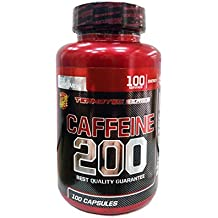 Nutrytec - Cafeina 200mg - 100 Cápsulas