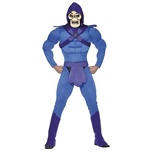 Smiffys He-Man Masters Herren Kostüm Skeletor Karneval Fasching Gr.L