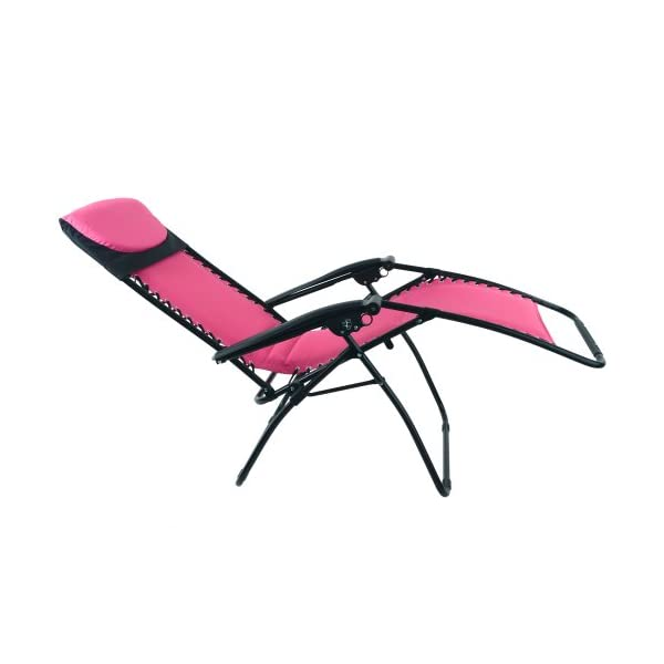 Azuma Padded Zero Gravity Chair - Pink