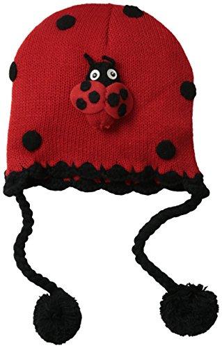 Kidorable Originale di marca Cappello Carattere Animali per Ragazzi e Ragazze Bambinii (Coccinella)