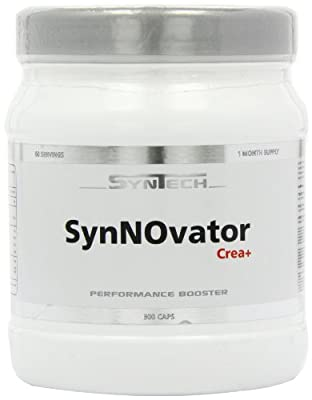 Syntech Nutrition Synnovator Crea Plus Nitric Oxide Performance Booster Capsules - Pack of 300 Capsules by SynTech Nutrition