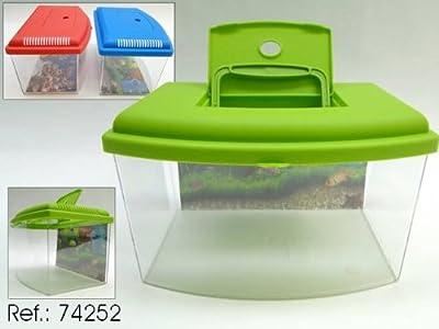 GEORPLAST Aquarium mit Deckel 5,5Liter–: