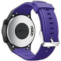CICIYONER 1 PC Silica Gel Uhrenarmband für Huawei Watch 2, leicht und kompatibel