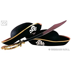 Musketeer Child Felt Dress-Up Fun Hats Caps & Headwear for Fancy Dress Costumes Accessory