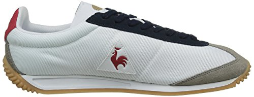 Le Coq Sportif Quartz Gum, Baskets Basses Mixte Adulte Blanc (Optical White/Titani)