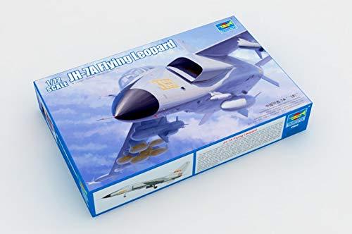 Trumpeter 01664 - Modellbausatz PLA JH-7A Flying Leopard (Flying Leopard)