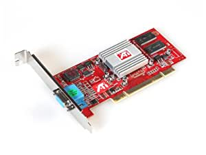 ATI RAGE 128VR videocard , 32MB PCI Version , 1x VGA output