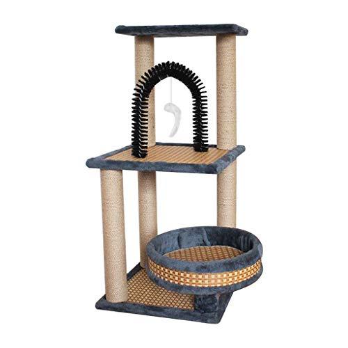 Albero Tiragraffi, Cat Tower/Cat Tree Condo Furniture/con Tiragraffi for Gattini Pet House Play