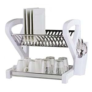 geschirrtrockner geschirr halterung trockner abtropfgestell dry station k che. Black Bedroom Furniture Sets. Home Design Ideas