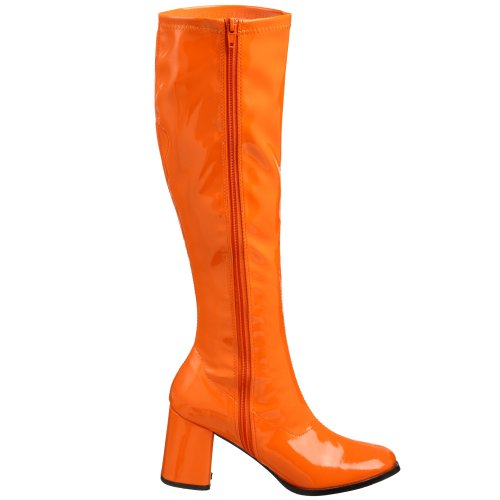 Pleaser Gogo300/yl, Damen Stiefel Orange