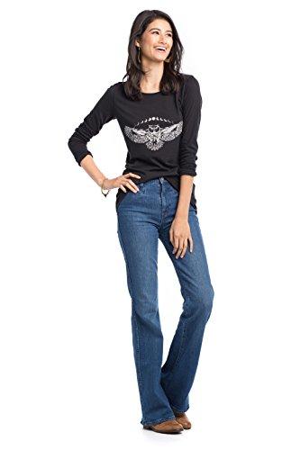 Synergy Organic Clothing Moon Eule Olivia Top jet black