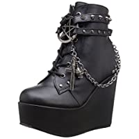 Demonia Women's Poison-101 Ankle Boots