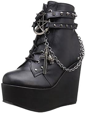 Demonia Damen Poison-101 Kurzschaft Stiefel